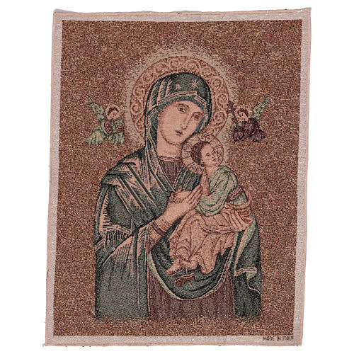 Our Lady of Perpetual Help tapestry 50x40 cm 1