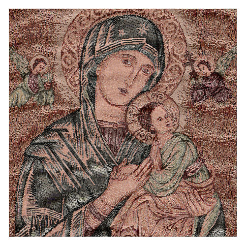 Our Lady of Perpetual Help tapestry 50x40 cm 2