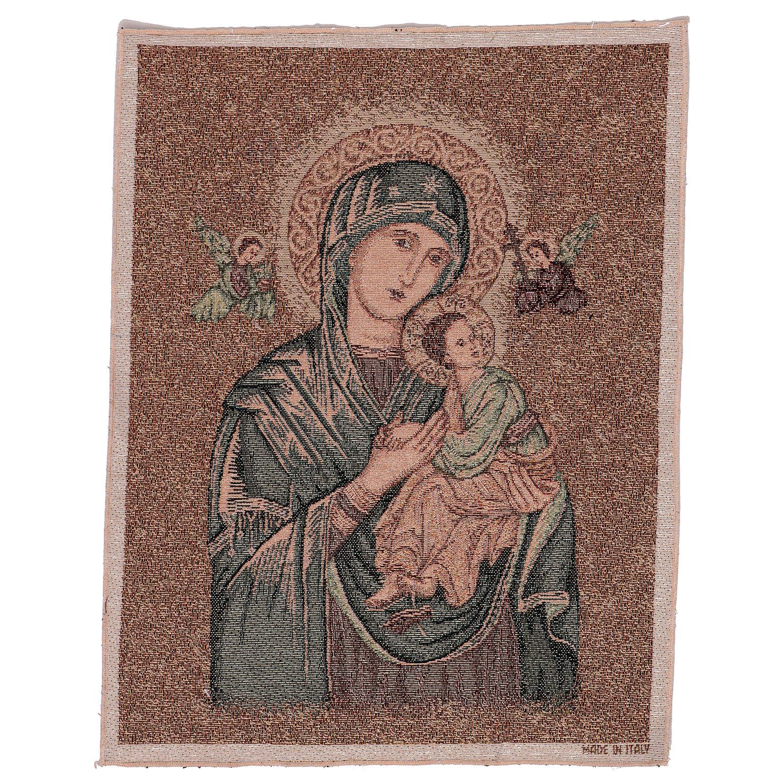 Arazzo Madonna del Perpetuo Soccorso 50x40 cm 3