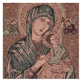 Arazzo Madonna del Perpetuo Soccorso 50x40 cm s2