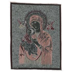 Arazzo Madonna del Perpetuo Soccorso 50x40 cm s3