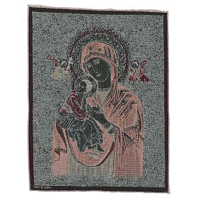 Our Lady of Perpetual Help tapestry 20x15.5