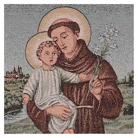 Gobelin Św. Antoni z Padwy 60x40 cm s2
