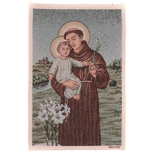 Gobelin Św. Antoni z Padwy 60x40 cm 1