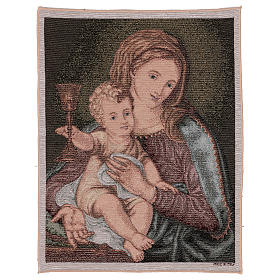 Our Lady of the Precious Blood tapestry 50x40 cm s1