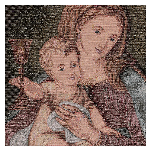 Our Lady of the Precious Blood tapestry 50x40 cm 2