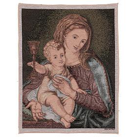 Arazzo Madonna del Preziosissimo Sangue 50x40 cm s1