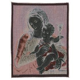 Arazzo Madonna del Preziosissimo Sangue 50x40 cm s3