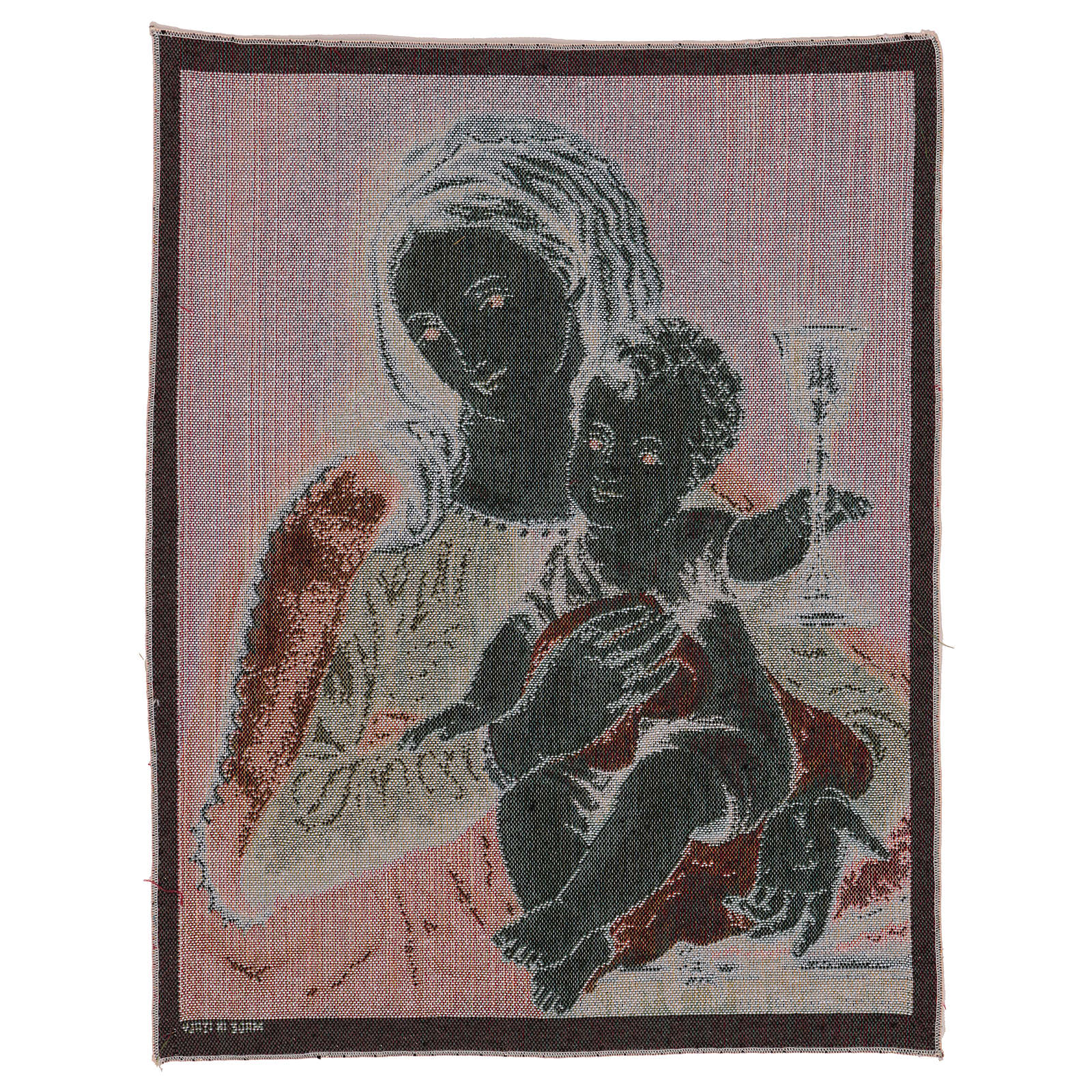 Our Lady of the Precious Blood tapestry 20x16