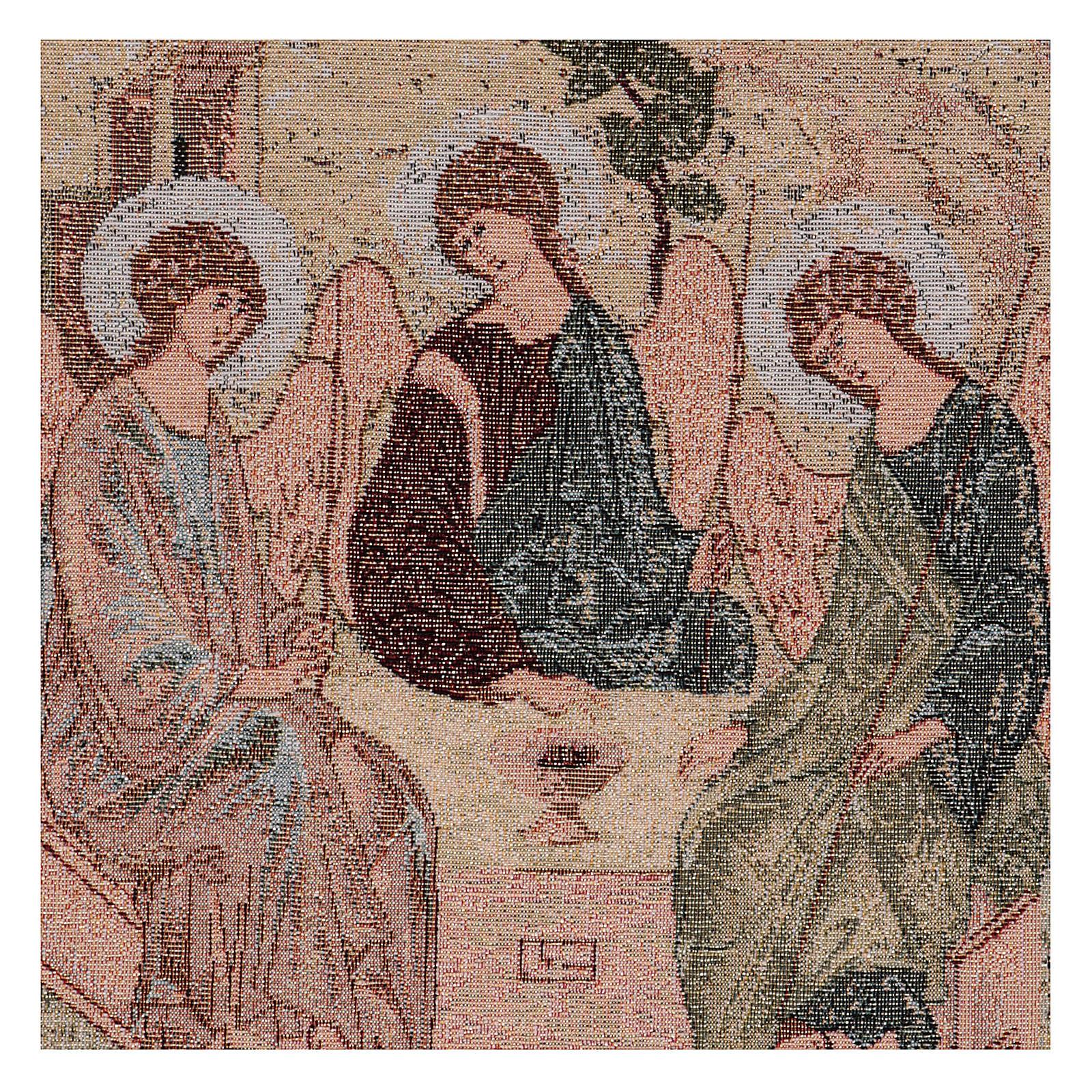 Arazzo Trinità di Rublev 50x40 cm 3