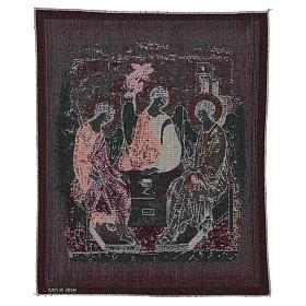 Arazzo Trinità di Rublev 50x40 cm s3