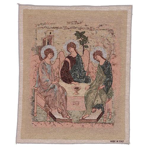 Arazzo Trinità di Rublev 50x40 cm 1