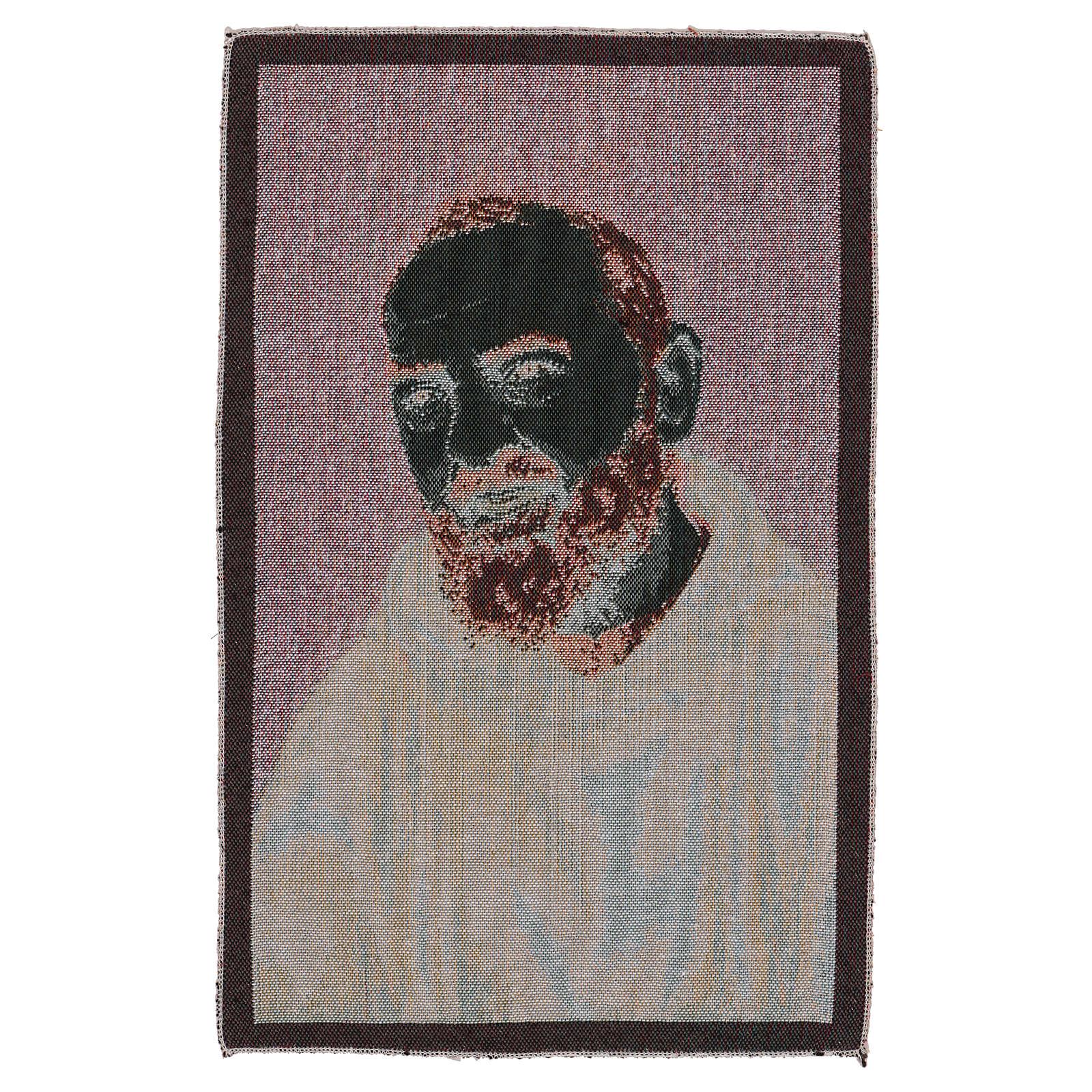 Tapisserie Padre Pio habit or 40x30 cm 3