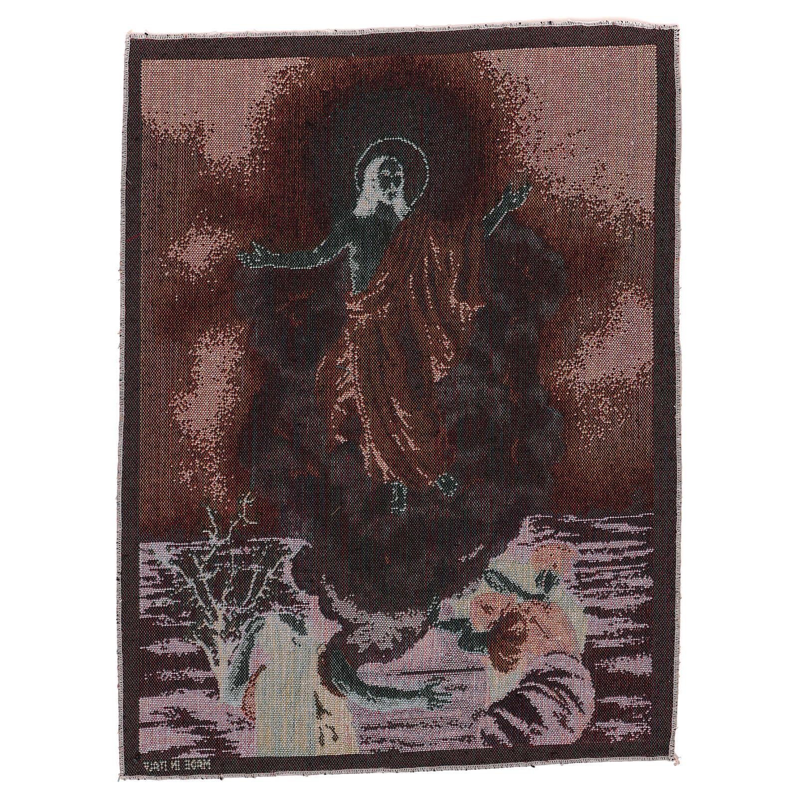 Wandteppich Auferstehung 50x40 cm 3