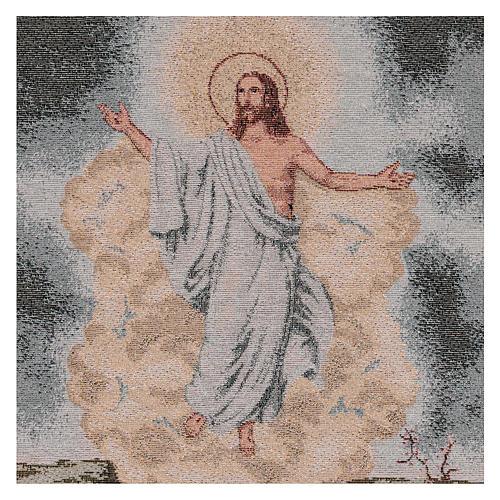 Arazzo Resurrezione 50x40 cm 2