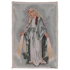 Tapiz Virgen Misericordiosa 50x40 cm s1