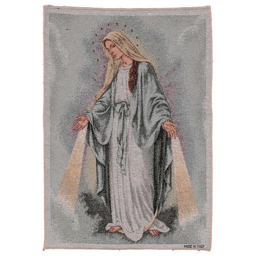 Tapiz Virgen Misericordiosa 50x40 cm 1
