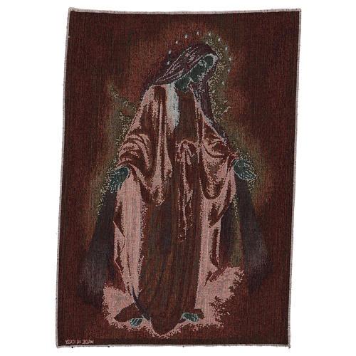Tapiz Virgen Misericordiosa 50x40 cm 3