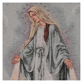 Arazzo Madonna Misericordiosa 45x40 cm s2