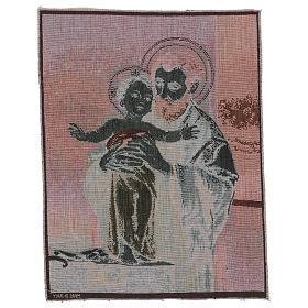 Wandteppich Heiliger Josef modern 50x40 cm s3