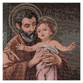 Gobelin Święty Józef współczesny styl 50x40 cm s2