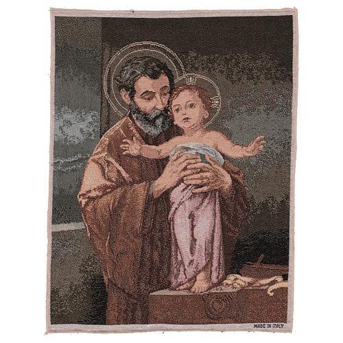 Gobelin Święty Józef współczesny styl 50x40 cm 1
