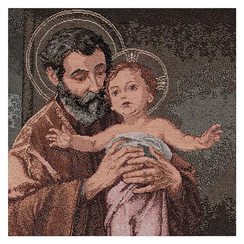 Gobelin Święty Józef współczesny styl 50x40 cm 2
