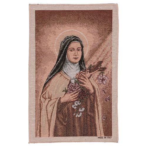 Arazzo Santa Teresa di Lisieux 45x30 cm 1