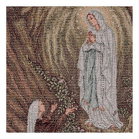 Wandteppich Erscheinung von Lourdes 40x30 cm s2