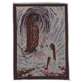 Wandteppich Erscheinung von Lourdes 40x30 cm s3