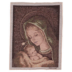 Tapisseries religieuses: Tapisserie Vierge de Recanati 40x30 cm
