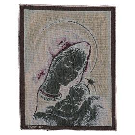 Arazzo Madonna di Recanati 40x30 cm s3
