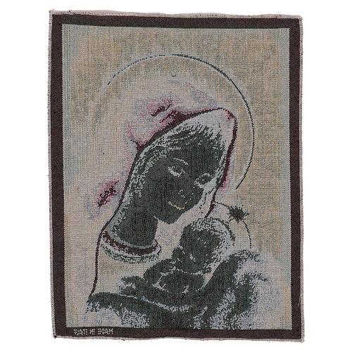 Arazzo Madonna di Recanati 40x30 cm 3