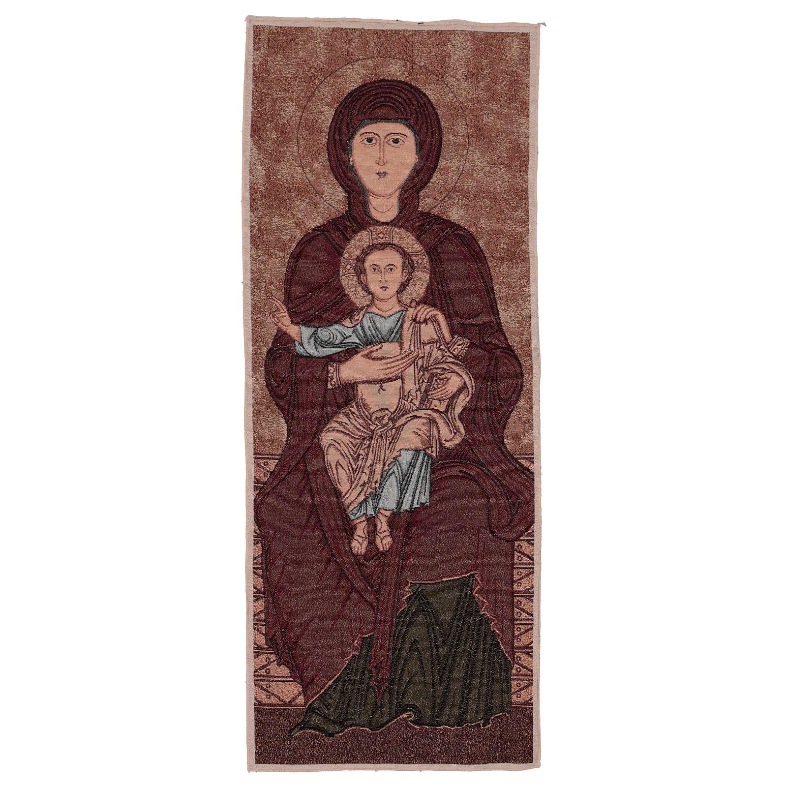 Arazzo Madonna di Sonnino 100x40 cm 3