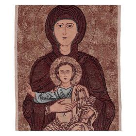 Arazzo Madonna di Sonnino 100x40 cm s2