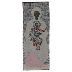 Arazzo Madonna di Sonnino 100x40 cm s3