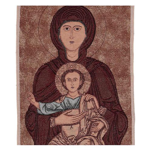 Arazzo Madonna di Sonnino 100x40 cm 2
