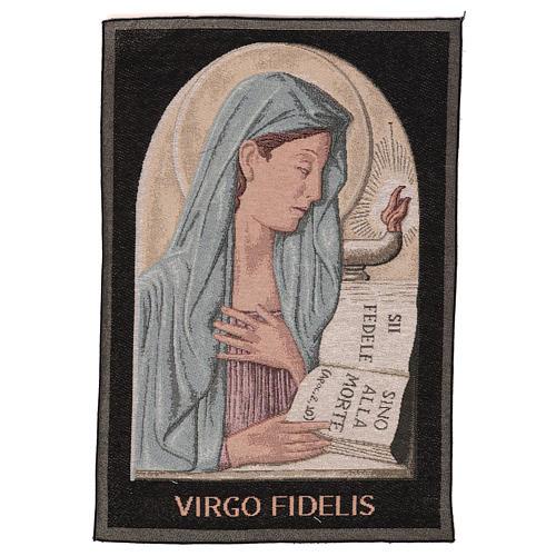 Arazzo Virgo Fidelis 55x40 cm 1