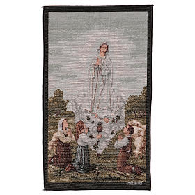 Tapiz Aparición Nuestra Señora de Fatima 50x40 cm s1