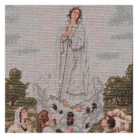 Tapisserie Apparition Notre-Dame de Fatima 50x40 cm s2