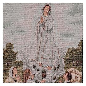 Arazzo Apparizione Madonna di Fatima 55x40 cm s2