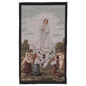 Tapeçaria Aparição Nossa Senhora de Fátima 55x40 cm s1