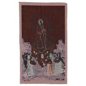Tapeçaria Aparição Nossa Senhora de Fátima 55x40 cm s3