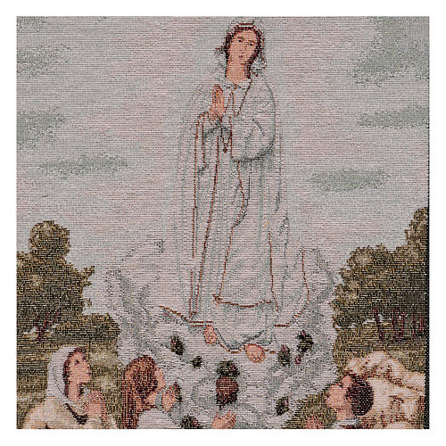 Our Lady apparition at Guadalupe tapestry 21.5x15.5