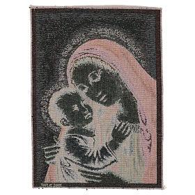 Arazzo Madonna del Buon Consiglio oro 40x30 cm s3
