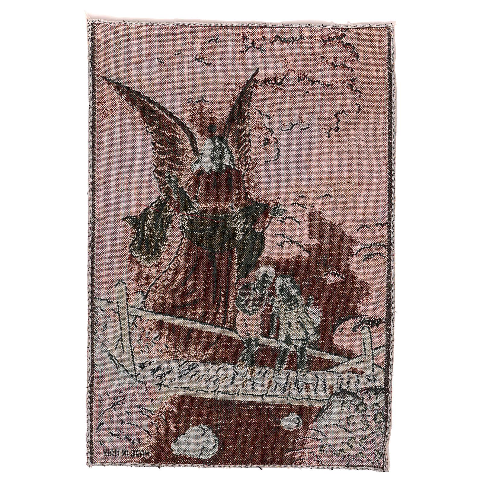 Tapisserie Ange Gardien or 40x30 cm 3