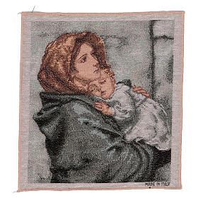 Arazzo Pantocratore oro 40x30 cm s4