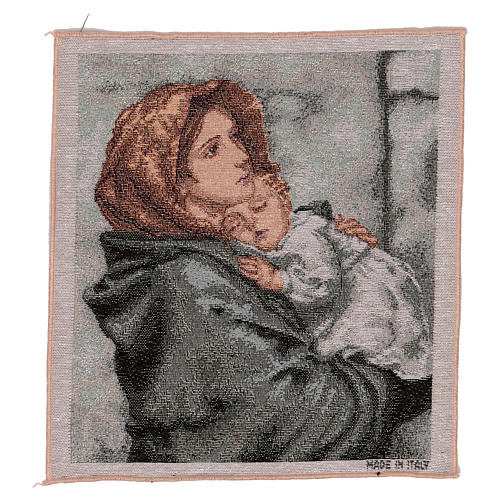 Arazzo Pantocratore oro 40x30 cm 4