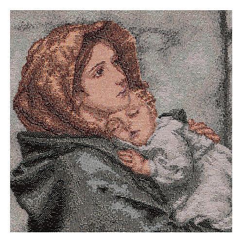 Arazzo Pantocratore oro 40x30 cm 5