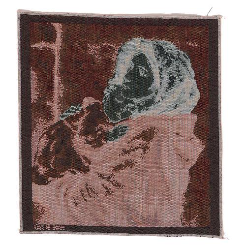 Arazzo Pantocratore oro 40x30 cm 6